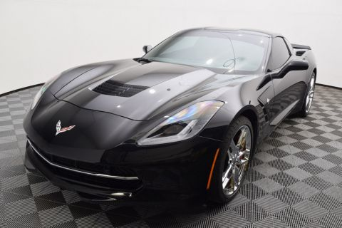 Pre-Owned 2016 Chevrolet Corvette 2dr Stingray Z51 Coupe w/2LT