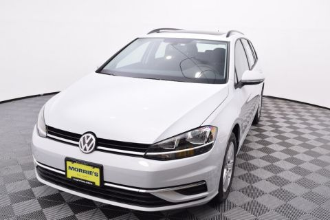 New 2018 Volkswagen Golf SportWagen SE